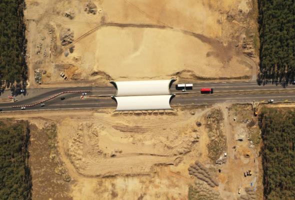 Budimex najtańszy na budowę przejścia nad A6