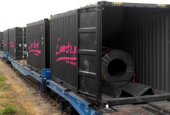 Laude ogłasza przetarg na 200 sztuk nadwozi do transportu intermodalnego