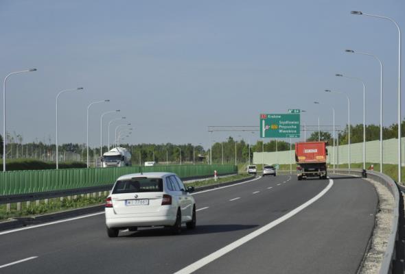 Potrzebny nadzór na S7 między węzłami Miechów i Szczepanowice