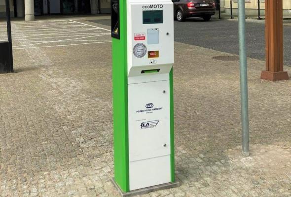 Kolejna stacja ładowania aut elektrycznych przy dworcu Gdynia Główna