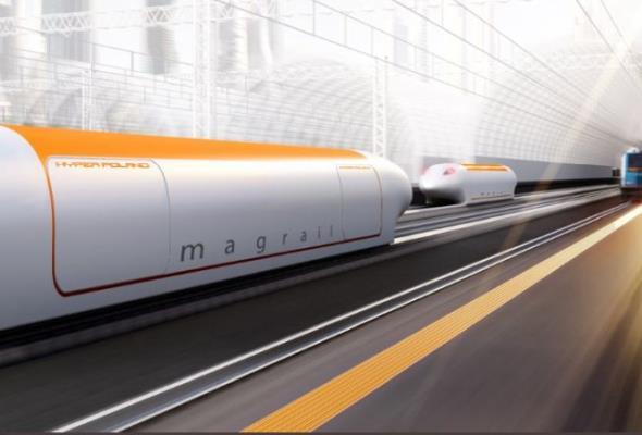 IDOM i Hyper Poland będą współpracować nad MagRail. Osiem minut z CPK do Warszawy!