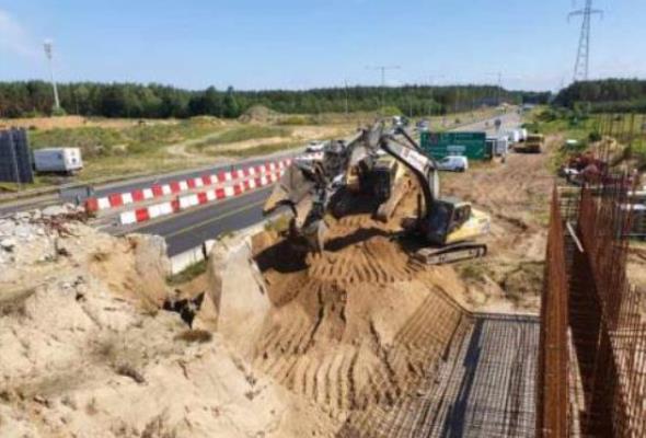 Szczecin. Znika stary wiadukt na węźle Kijewo. Uwaga na utrudnienia