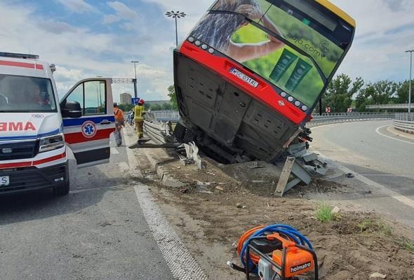Wypadek na moście Grota. GDDKiA: Urządzenia brd były sprawne technicznie