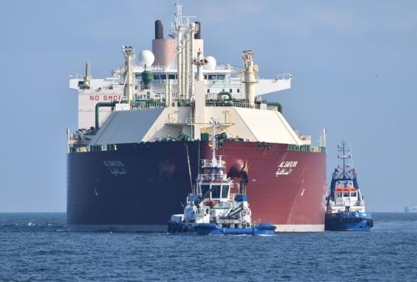 Do Portu Świnoujście wpłynęła 100. dostawa LNG