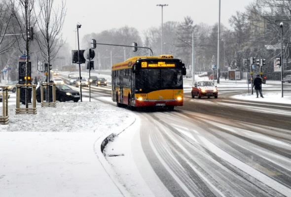 Łódzkie: Lekka zima to mniejsze wydatki na utrzymanie dróg
