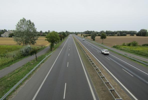 Przymiarki do budowy S7 Modlin – Czosnów