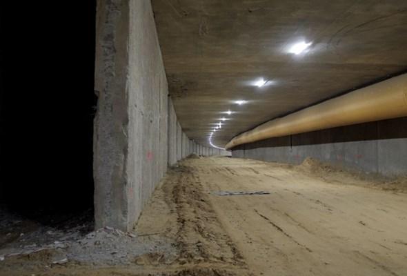 Tunel na Południowej Obwodnicy Warszawy – pierwszy przejazd pod Ursynowem [Film]