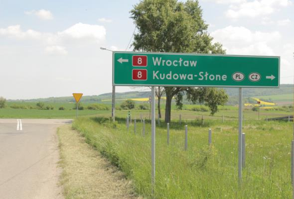 Tak może wyglądać przebieg S8 Kłodzko − Wrocław