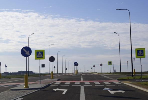Fragment lokalnej obwodnicy Gliwic otwarty dla kierowców