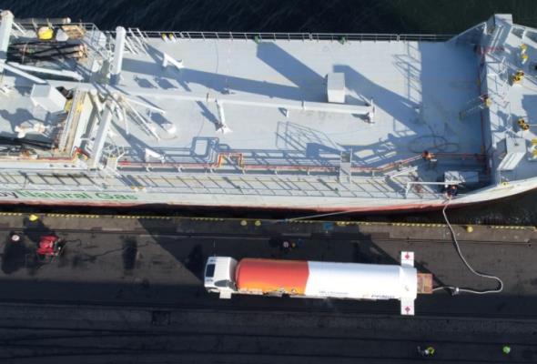 LNG coraz popularniejsze w Porcie Gdynia