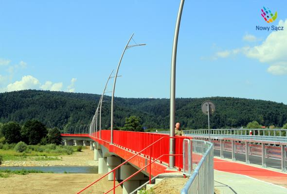Nowy Sącz. Most na Dunajcu ma nosić imię Marii i Lecha Kaczyńskich