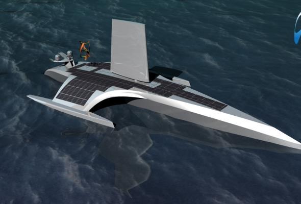 Autonomiczny statek będzie pływał po Atlantyku. Kadłub wykonano w Gdańsku