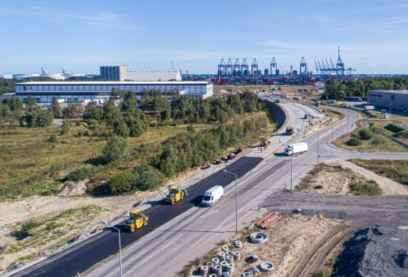 Port Gdańsk będzie lepiej dostępny. Rozbudowa dróg i kolei bliska finału