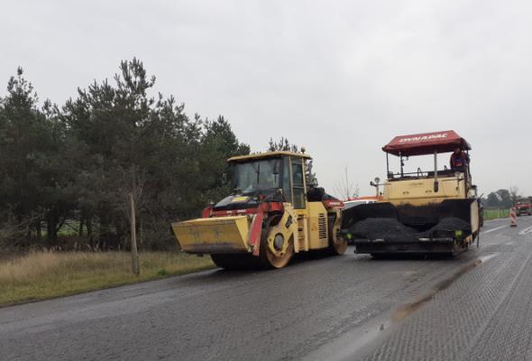 Rozpoczyna się remont na DK-11 Tarnowo – Budzyń