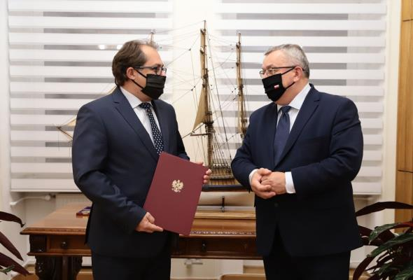 Marek Gróbarczyk wiceszefem Ministerstwa Infrastruktury