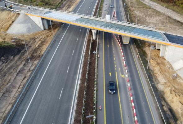 Można jeździć po nowej jezdni S3 Lubin – Polkowice