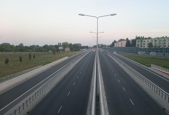 Łódź przedłuży Trasę Górna do A1. Miasto inwestorem DW-714
