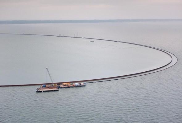 Mierzeja Wiślana. Trwa scalanie pierwszego z mostów