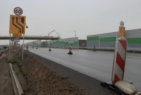 Zniknie największe wąskie gardło na budowanej A1