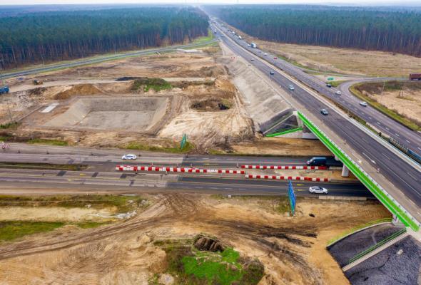 Budimex najbliżej kontraktu na dokończenie węzła Szczecin Kijewo