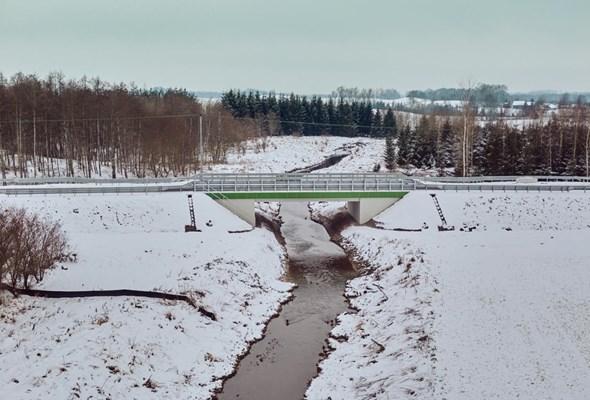 Rozbudowa drogi 512 Pieniężno – Bartoszyce na półmetku