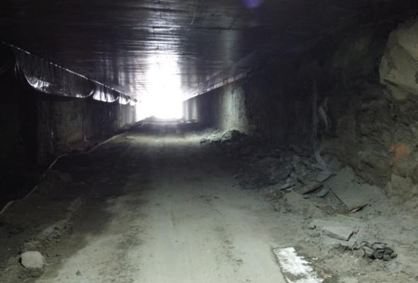 Trasa Łagiewnicka. Ostatni tunel przebity