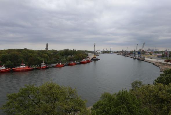 Pandemia nie zaszkodziła polskim portom