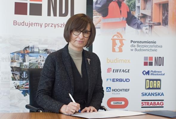 NDI dołącza do Porozumienia dla bezpieczeństwa w budownictwie