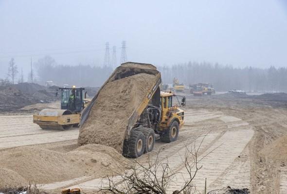 Rozpoczęła się budowa wiaduktu nad Rail Baltica w Małkini