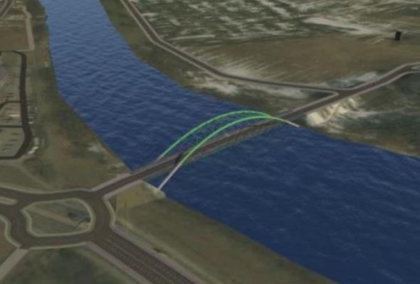 Podkarpackie. Trzeba zaprojektować most na Sanie w ciągu DW-886