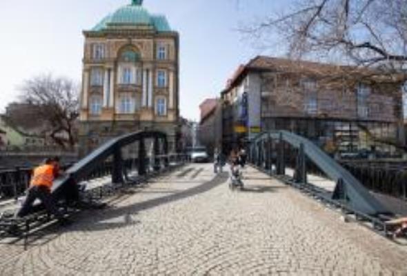 Bielsko-Biała. Stary most doczekał się rekonstrukcji