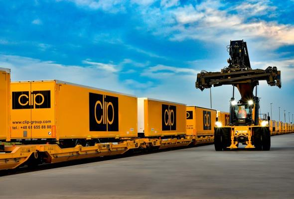 Wielton dostarczył Clip Group sto naczep dedykowanych do transportu koleją