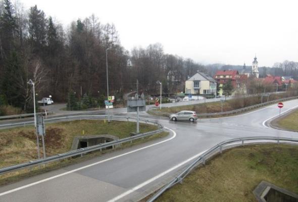 Małopolska. Węzeł Pcim na S7 będzie rozbudowany