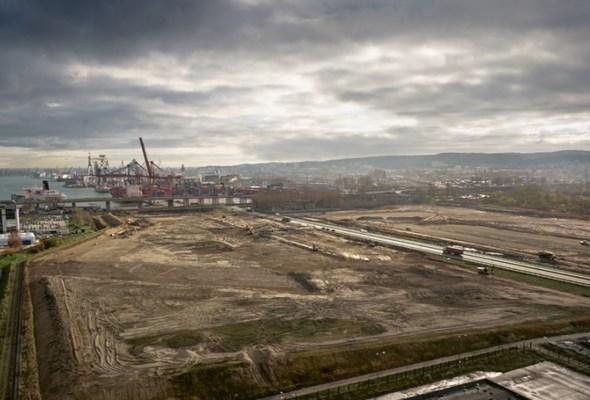 Port Gdynia. Place składowo-manewrowe powstają szybciej, niż planowano