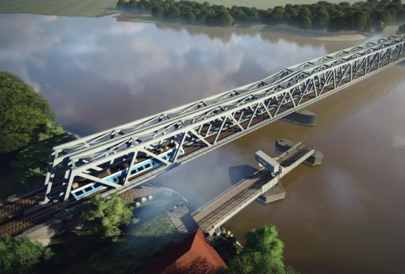 Można zbudować nowy most kolejowy na Regalicy