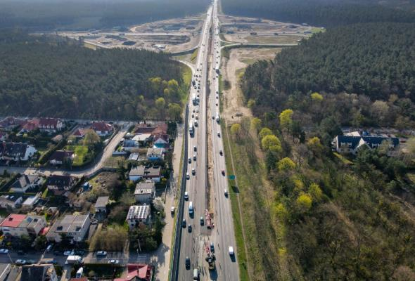 Wyburzą wiadukt nad A6. Uwaga na zmiany w organizacji ruchu