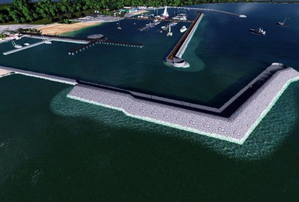 Dodatkowe pieniądze na przebudowę portu w Pucku