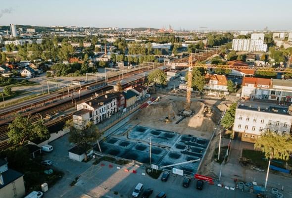 Budowa węzła integracyjnego Gdynia-Chylonia na finiszu prac