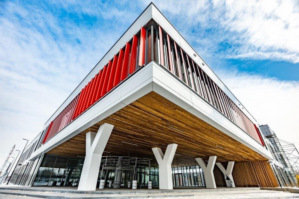 Centrum Badawczo-Rozwojowe Orlenu gotowe. Budimex zakończył budowę