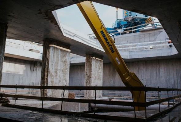 Wizyta w podziemiach stacji metra Bródno – podsumowanie prac fundamentowych