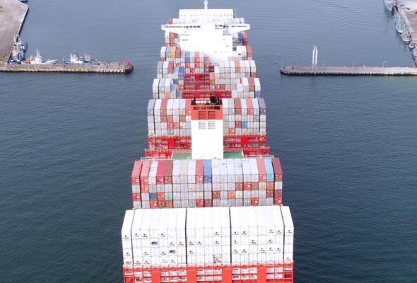Szersze wejście do Portu Gdynia. Zakończono prace na Ostrodze