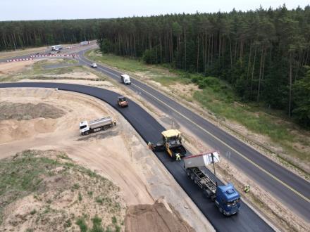 Dwiema jezdniami po A6 koło Szczecina