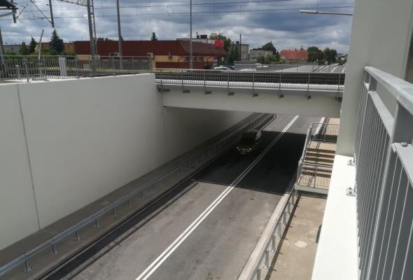 W Rawiczu na linii Wrocław – Poznań wiadukty zastąpiły przejazdy drogowo-kolejowe