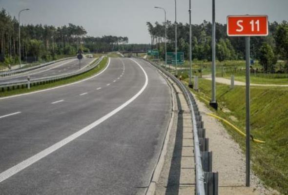 S11 od Koszalina do Bobolic z kompletem decyzji ZRID