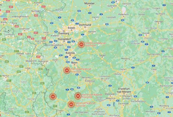 Katastrofalne powodzie w Niemczech. Już ponad 100 ofiar