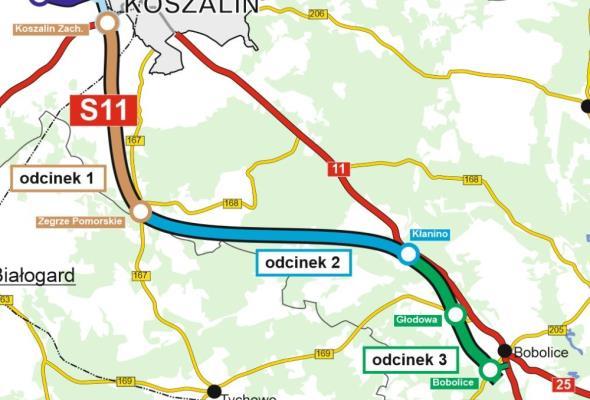 Ruszyła budowa S11 Koszalin – Bobolice