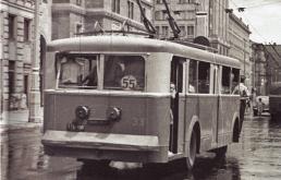 """Książka """"Warszawskie trolejbusy"""""""