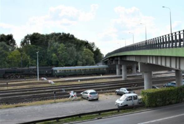 Awaria wiaduktu w Wolsztynie. Ruch wahadłowy