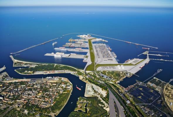 Port Centralny w Gdańsku na razie nie powstanie