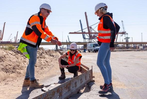 NDI: Trzy hektary placu gotowe do użytkowania w Porcie Gdynia rok przed czasem